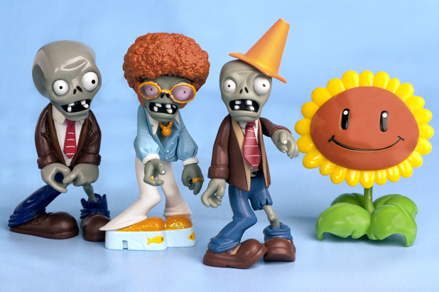 Plants Vs Zombies merchandise - Figurines from Jazwares