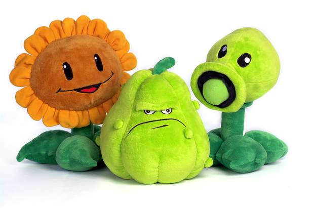 Plants Vs Zombies merchandise - Plush toys from Jazwares