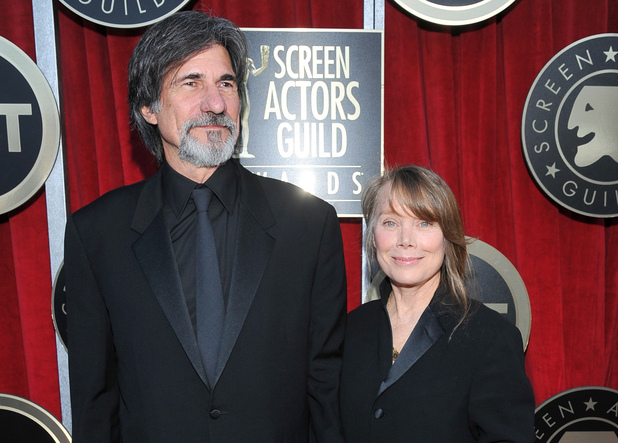 Sissy Spacek and husband Jack Fisk at the Screen Actors Guild awards 2012