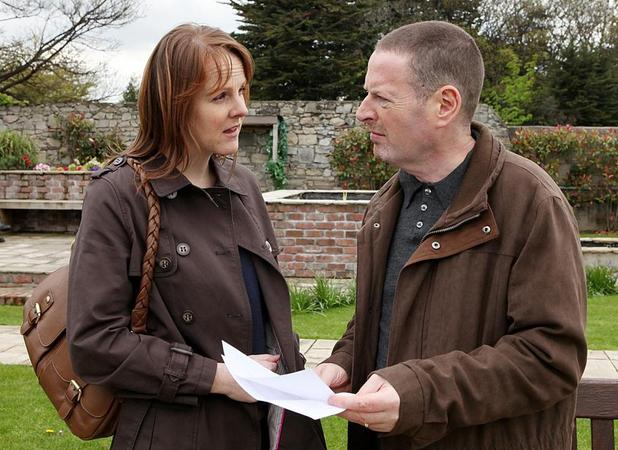 Maeve warns Dermot.