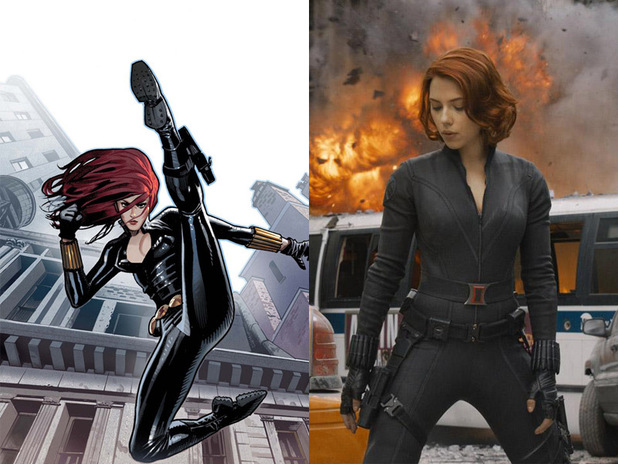 Natasha Romanoff aka Black Widow