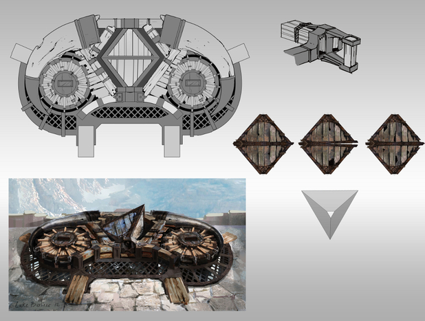 'God of War: Ascension' concept art