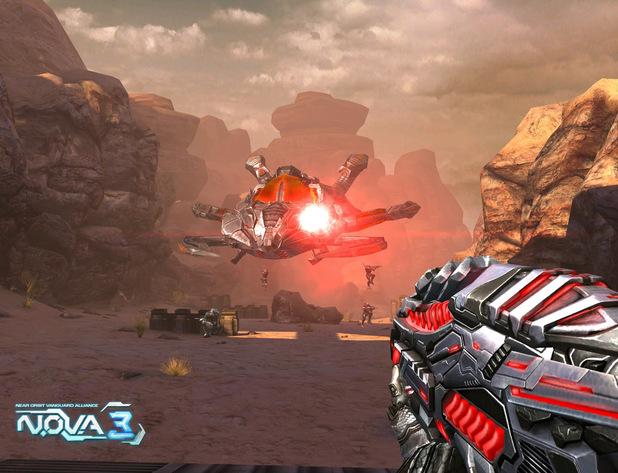 'N.O.V.A. 3' screenshot