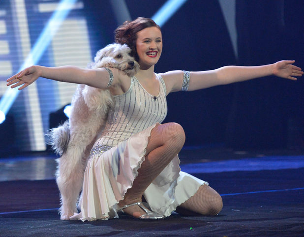 Britain&#39;s Got Talent: Ashleigh and Pudsey