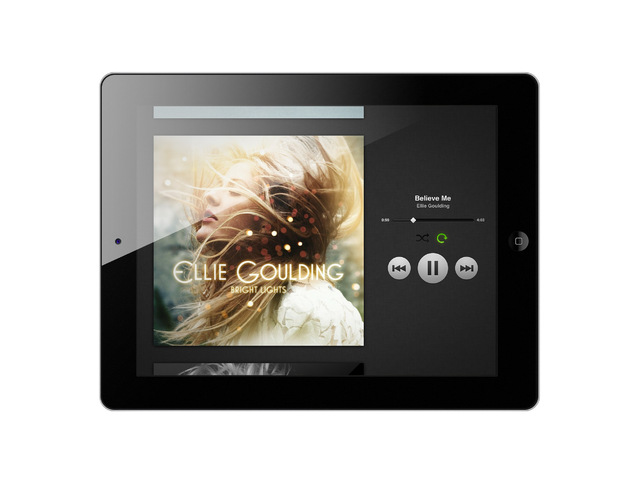 Spotify on iPad
