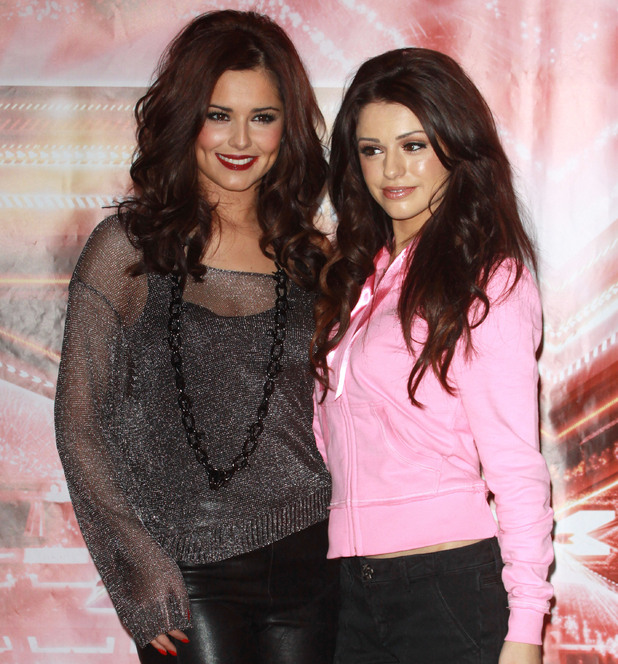 Cheryl Cole and Cher Lloyd X Factor finalist photocall London