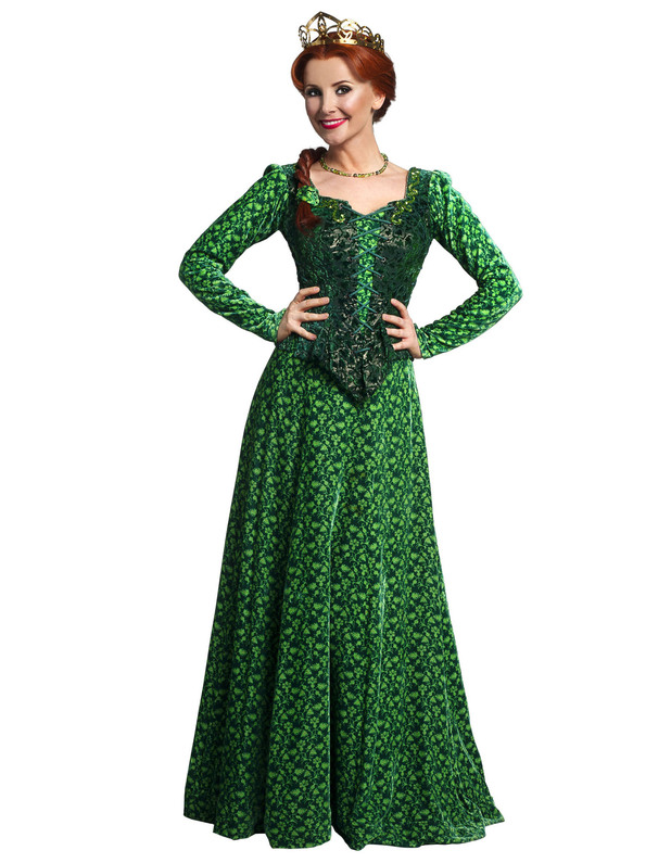 Carley Stenson as Princess Fiona in &#39;Shrek The Musical&#39; 