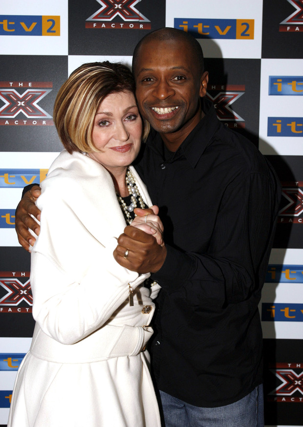 Sharon Osbourne and Andy Abraham
