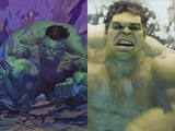 Avengers: Comic to screen - Hulk