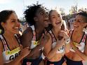 Olympics-themed sports drama Fast Girls provides cheesy, feel-good fun.
