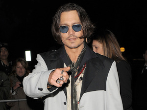 Johnny Depp 'Dark Shadows' Afterparty, held at Temple Place. London