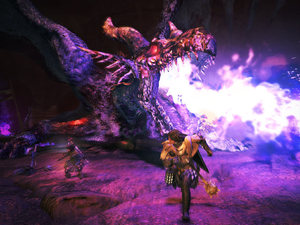 &#39;Dragon&#39;s Dogma&#39; Ur-dragon screenshot