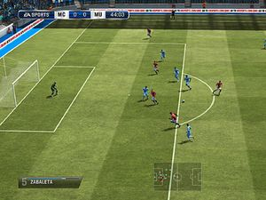 Frst screenshots of FIFA 13