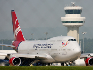 A Virgin Atlantic Boeing 747-400