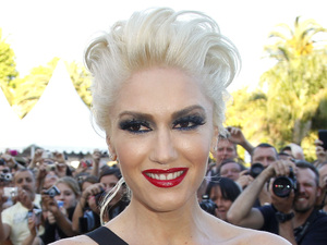 Gwen Stefani poses in front of the Palais before a screening of This Must Be The Place in 2011.