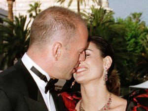 Bruce Willis, Demi Moore, Cannes Film Festival