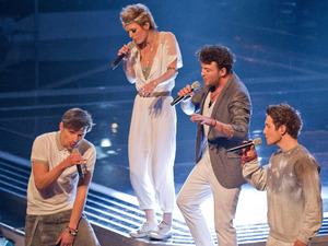 The Voice UK: Team Danny perform