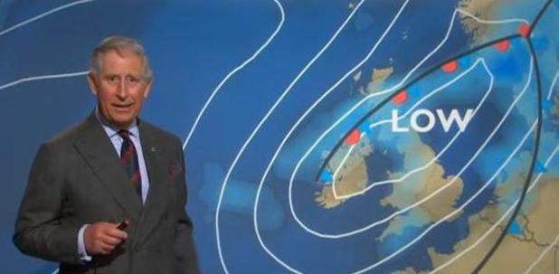 Prince Charles, weather, BBC1