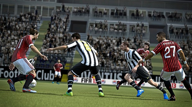 First screenshots of FIFA 13