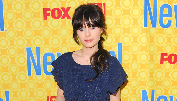 Zooey Deschanel (Jess), at the 'New Girl' academy screening at the Leonard H. Goldenson Theatre in North Hollywood. Los Angeles