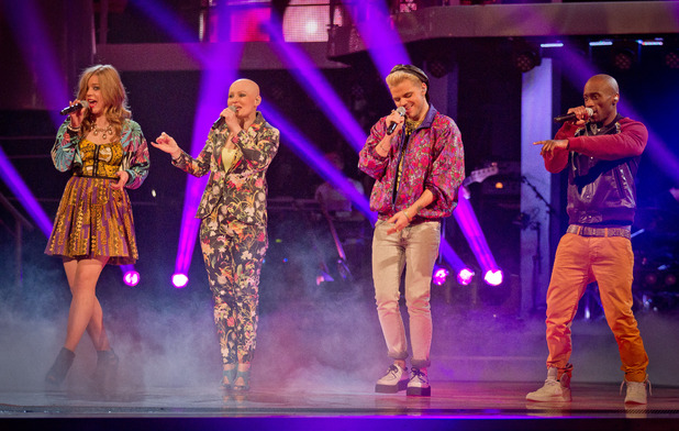The Voice UK: Team Jessie perform