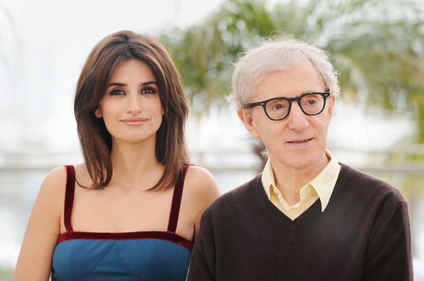 Penelope Cruz and Woody Allen