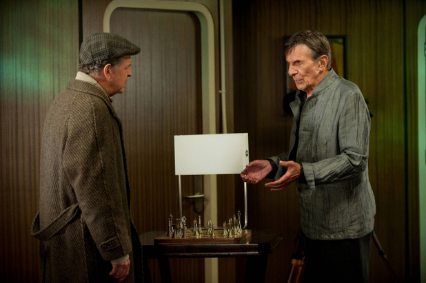 Leonard Nimoy and Walter