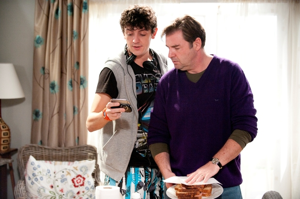 Starlings: Brendan Coyle as Terry, John Dagleish as Gravy
