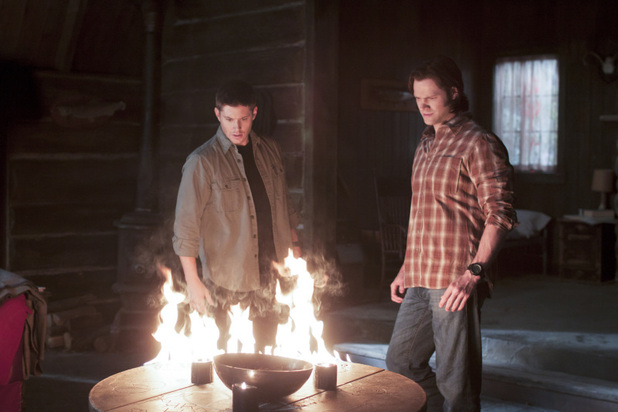Jensen Ackles as Dean and Jared Padalecki as Sam