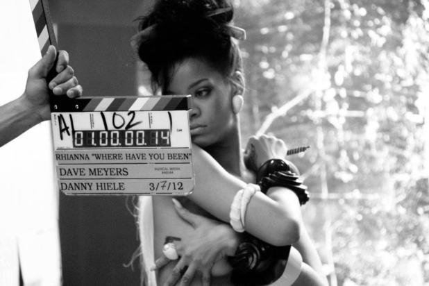 Rihanna: 'Where Have You Been' Behind the Scenes