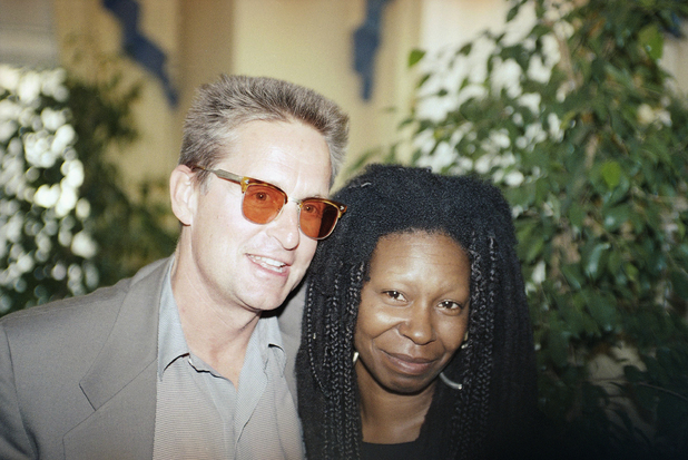 Michael Douglas and Whoopi Goldberg