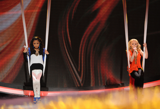 'American Idol': The Top 4 - Jessica Sanchez, Hollie Cavanagh