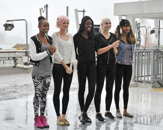 Annaliese, Sophie, Alisha, Laura and Eboni