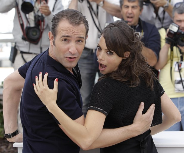 Jean Dujardin and Berenice Bejo The Artist