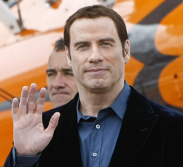 John Travolta - 49th Paris Air Show at Le Bourget airport, east of Paris, Tuesday June 21, 2011