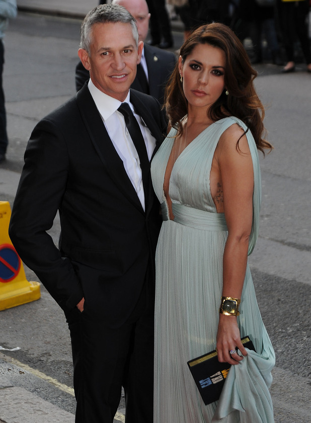 Gary Lineker and wife Danielle Lineker arriving at Claridges hotel London, England - 08.05.12 Mandatory Credit: Craig Harris/WENN.com