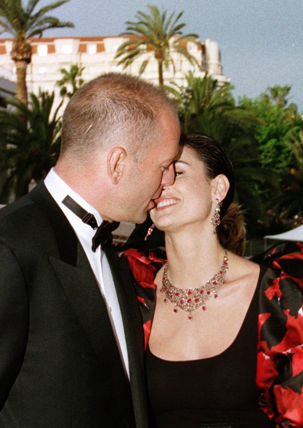 Bruce Willis and Demi Moore The Fifth Element