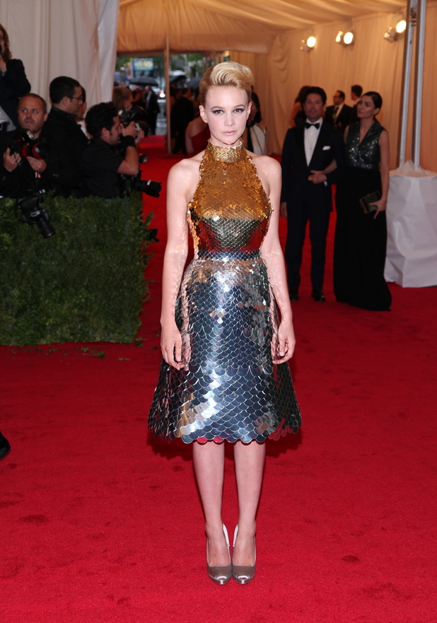 Carey Mulligan Schiaparelli and Prada 'Impossible Conversations' Costume Institute Gala at The Metropolitan Museum of Art  New York City,