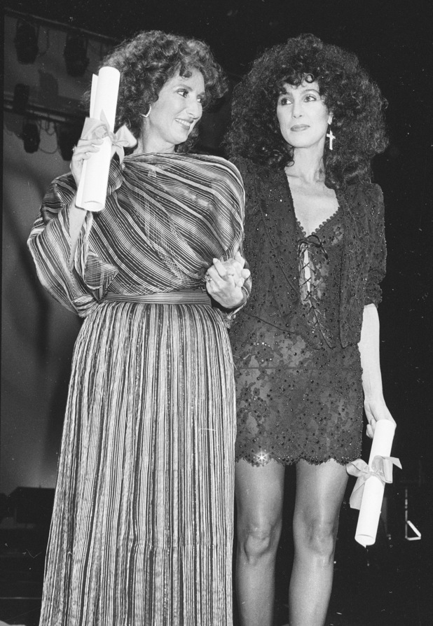 Norma Aleandro and Cher
