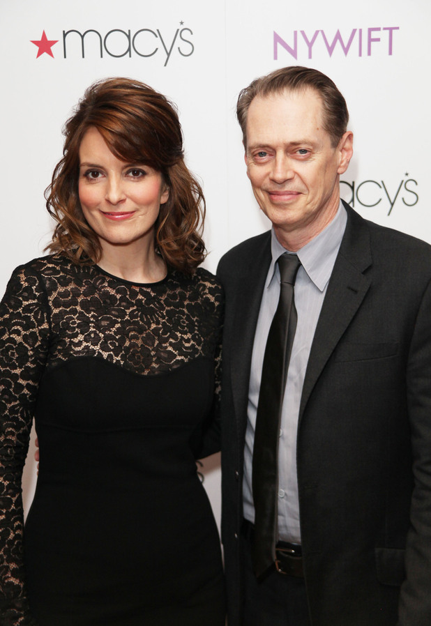Tina Fay and Steve Buscemi NYWIFT's 13th Annual Designing Women Awards held at Macy's