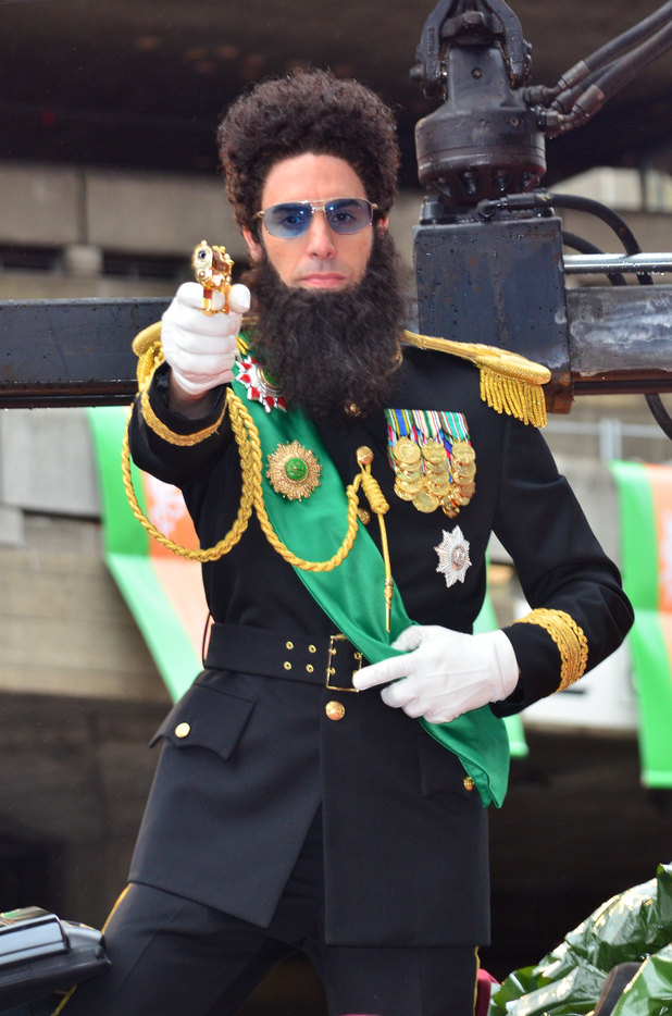 Sacha Baron Cohen aka Admiral General Aladeen