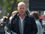 Bruce Willis on the set of 'A Good Day to Die Hard' Budapest, Hungary - 08.05.12 Mandatory Credit: WENN.com