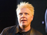 The Offspring frontman Dexter Holland at KROQ's annual Weenie Roast, May 2012