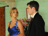 Indi flaunts her date with Logan in front of Romeo.