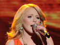 "Hollie Cavanagh reveals she ""really wanted"" to sing 'Hurt' on American Idol."