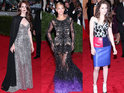See which celebrities turned up to the Met Ball 2012 last night.