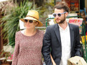 The actress and her boyfriend Tom Sturridge become parents for the first time.