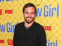 Jake Johnson says he's annoyed by the many requests for hugs from male fans.