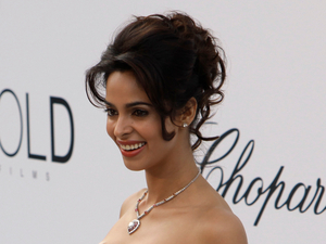 Mallika Sherawat at the Cannes Film Festival 2011