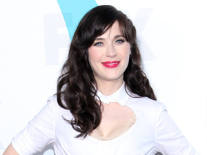 Zooey Deschanel 2012 Fox  Upfront Presentation held at the Wollman Rink - Arrivals New York City